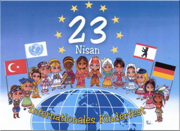 23 Nisan Ulasal Egemenlik ve Çocuk Bayramı Kutlu Olsun